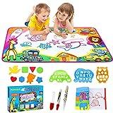 PHYLES Agua Dibujo Pintura, 87*57CM Juegos de Agua, Pizarra Mágica, Pizarra Infantil, Juguetes de Dibujo para niños, Juguete Educativo, Regalo para Niños
