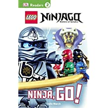 LEGO Ninjago: Ninja, Go! (Turtleback School & Library Binding Edition) (DK Readers: Level 2) by Julia March (2015-06-02)