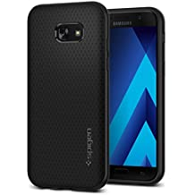 Spigen 573CS21143 Funda Liquid Air para Galaxy A5 2017, color Negro