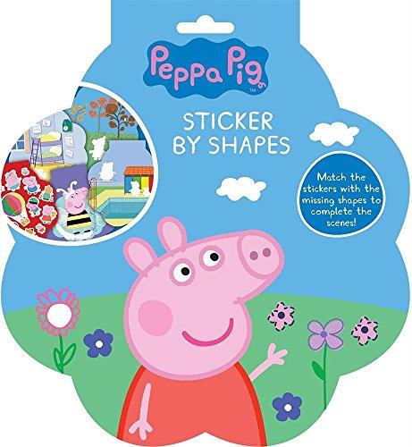 Peppa Pig Aufkleber von Formen, Anderen, blau, 9x 12x 16cm