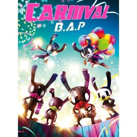 B.A.P - [CARNIVAL] 5. Mini Album SPECIAL Ver CD + 60p Photo Book + 1P-Foto-Karte + 1P Mini-Poster + 1P Mini Pop-up BAP Stander K-POP Sealed