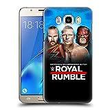 Head Case Designs Offizielle WWE Braun, Brock & Kane 2018 Royal Rumble Ruckseite Hülle für Samsung Galaxy J5 (2016)