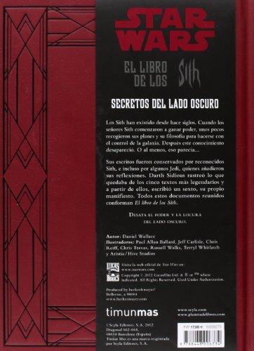 515YacvdaKL - Star Wars El libro de los Sith: 13 (Star Wars Ilustrados)