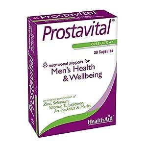 HealthAid Prostavital–Zinc, sélénium, Saw Palmetto