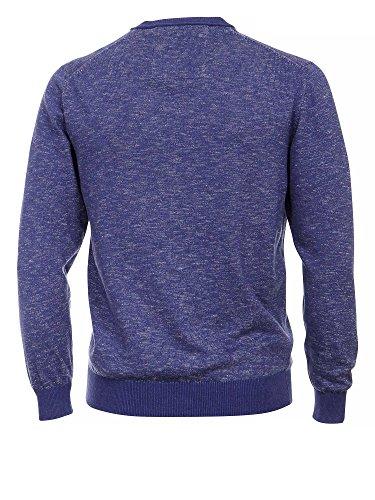 CASAMODA Herren Pullover 100% Baumwolle Blau