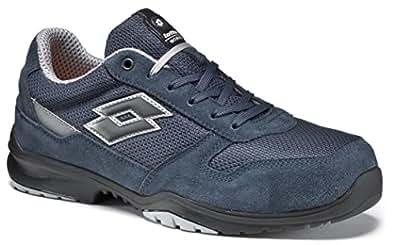 Chaussures de securit' Lotto Works FLEX EVO S1P SRC HRO Bleu Memory Foam-771198 (38)