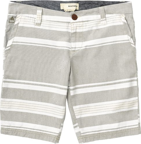 Burton Damen Shorts Women's Walker Short, Texture Stripe, 28/7, 11979101977 (Stripe Walker)