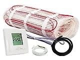 Warm-On Heizmatten Komplett-Set 150 W/m² - 1,6 m² inklusive Digital-Thermostat, AM902402
