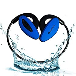 Amkette Trubeats Pulse Bluetooth Headphones (Blue)