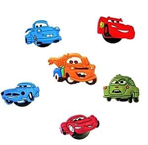 6 St. Satz des Schuh Schmucken # 1 Pixar Autos