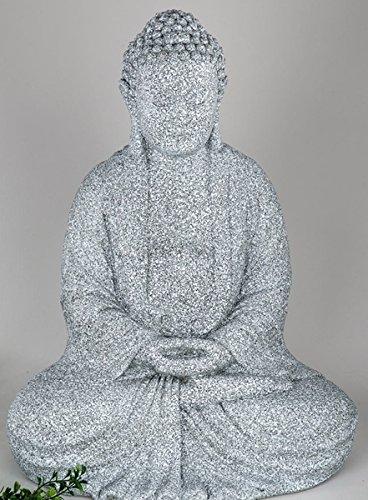 Formano Figura de Buda sentado, color marrón, 52cm 3