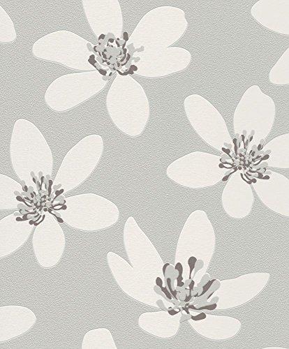 flowers-flower-wallpaper-non-woven-floral-grey-rasch-prego-700121