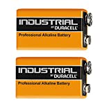 Duracell Industrial Alkaline Batterie Block 9V 6LF22, 2 pieces