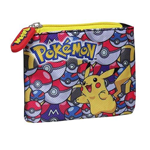 Preisvergleich Produktbild Pokemon md-231-pk Pikachu mit pokeballs Münze Geldbörse Tasche