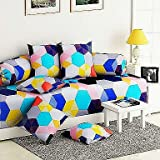 #9: Choice Homes™ Cotton Diwan Set Printed 8 Piece of Combo 5 Cousins and 2 Bolster with Single bedsheet