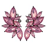 OOMPH's Gold & Purple Pink Floral Ear Cu...