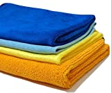#5: SOBBY Microfibre Cleaning Cloth Set of 4 (Assorted)