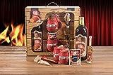 Feuerzangentasse Schatzkiste Geschenkset Feuerzangenbowle rot Apre Ski