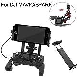 Jaminy Handy-Platten Halterung Mobile Tablet-Extender Halter Halterung Halterungsband RC für DJI Mavic pro Spark