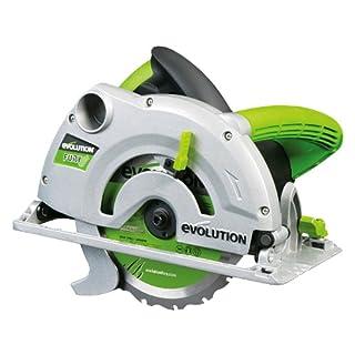 Evolution Power Tools FURY1-B Multi-Purpose Circular Saw, 185 mm (230 V)