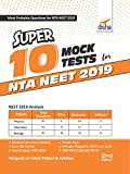 As the NEET 2019 would be conducted by NTA, Disha presents Updated 2nd Edition of its Bestseller Super 10 Mock Tests for NTA NEET. The book contains 10 Mock/ Sample Tests designed exactly as per the latest pattern (3 hour & 180 Questions). The bo...
