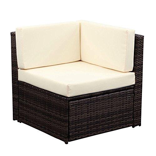 ikayaa outdoor patio garden furniture sofa