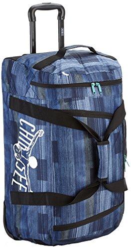 Chiemsee Unisex-Erwachsene Rolling Duffle Umhängetasche, Blau (Keen Blue), 41 x 32 x 70 cm (Rolling Weekender Tasche)