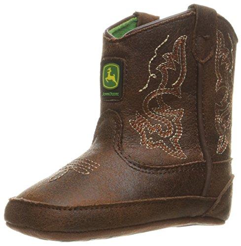 John Deere Bab Dark Rust PO Pull-On Boot (John Deere Baby-stiefel)