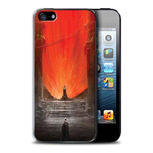 Offiziell Chris Cold Hülle / Case für Apple iPhone SE / Pack 10pcs Muster / Dunkle Kunst Dämon Kollektion Hohe Königin