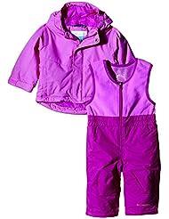 Columbia Buga - Conjuntos termales para bebés, color rosa (foxglove/bright plum), talla Size 6/12