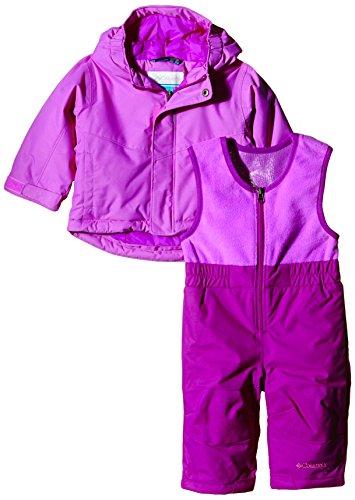 columbia-buga-set-salopette-veste-de-ski-enfant-foxglove-bright-plum-fr-24-mois-taille-fabricant-2t