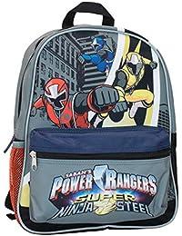 Power Rangers Mochila para Niños Super Ninja Steel