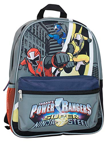 Power Rangers Enfants Super Ninja Steel Sac à  Dos, Multicolore, One Size