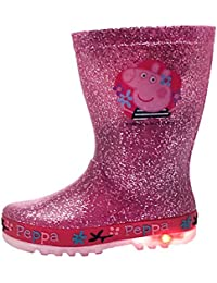 Peppa Pig Diantha Pink Glitter Wellies Parent