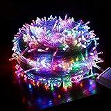 YEAHMO Guirlande Lumineuse 8 Modes d'éclairage 800 LEDs 100m guirlandes Lumineuses for Le décor de Noël for Le Jardin du Parti Weding (Color : Colorful, Size : 100M 800LEDs)