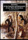 Narrative of the Captivity and Restoration of mrs. Mary Rowlandson par Mrs. Mary Rowlandson