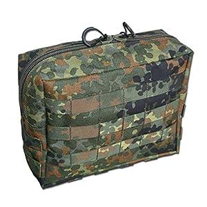 Zentauron Reissverschlusstasche Extra Large Flecktarn