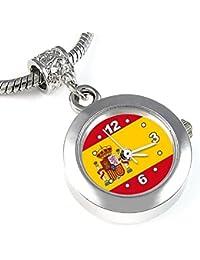 España reloj para el collar o pulsera