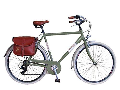 Fahrrad Rad Citybike CTB Herren Vintage Retro Via Veneto Alluminium Grun