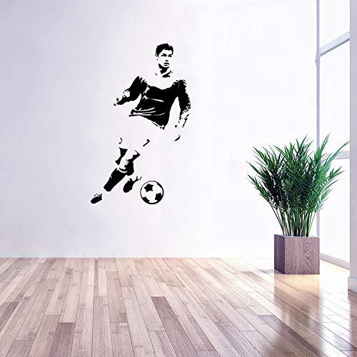 Neue Wandaufkleber Aufkleber Cristiano Ronaldo Wandaufkleber Für Kinderzimmer Kühlen Fußballer Poster Sport Spiel GYM Removable Home Decor 57 * 130 cm