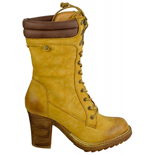Ladies ankle boots Mid Calf Boot Camel