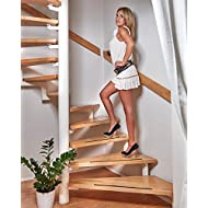 Anti-slip strips for stairs and steps self-adhesive black 18 piece non-slip strip Stairs