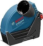 Bosch Professional GDE 125 EA-T Absaughaube, 125 mm Trennscheiben, Durchmesser 25 mm maximal Schnitttiefe, werkzeuglose Montage, 300 g, 1600A003DJ