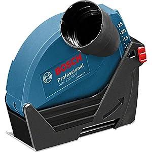 Bosch Professional GDE 125 EA-T – Caperuza de aspiración (para amoladora Ø disco 125 mm, cierre rápido)