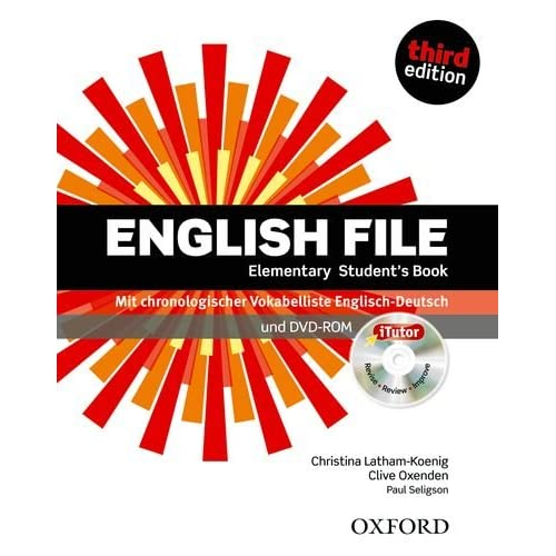 English File 3e Elementary Student Book