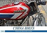 CHINA BIKES - Chinesische Motorräder in Kuba (Tischkalender 2019 DIN A5 quer): Ältere und ganz neue Motorräder aus China in Kuba (Monatskalender, 14 Seiten ) (CALVENDO Mobilitaet)