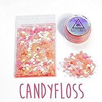 Glitterati Chunky Mixed Face Glitter Festival Glitter for Face Body Hair Cosmetic (Candyfloss)