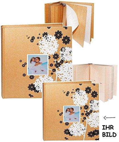 2-tlg-set-xl-fotoalbum-einsteckalbum-blumenranken-gebunden-zum-einstecken-einkleben-blanko-weiss-gro