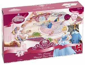 Disney Princess - Princess Wiz Around 48 Piece Musical Floor Jigsaw Puzzle (Incl. Princess Wind Up Figurine and Muscial Sound Box)