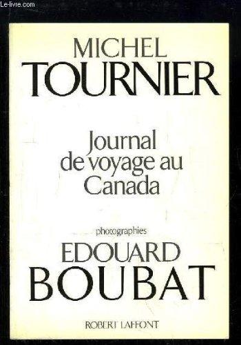 JOURNAL DE VOYAGE AU CANADA